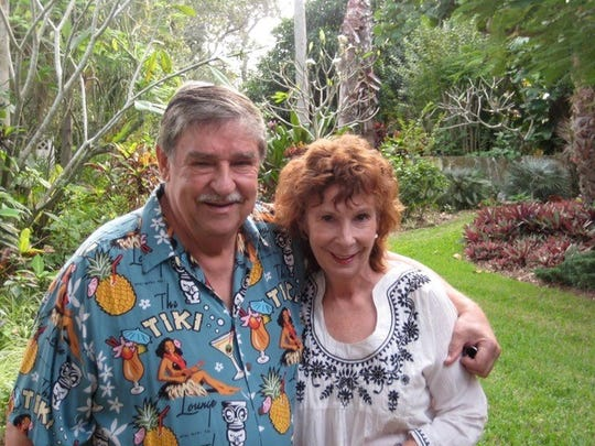 Bob and Jenifer Marx were married in 1970. Bob, a famed underwater archaeologist, died July 4 at the couple's Indialantic home.