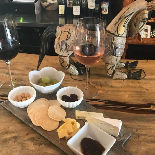 Balibar on Merritt Island is like an exotic oasis with a nice wine selection and cheese platters.