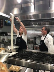 You can get a great meal at Alfredo's Paradiso on Merritt Island, and if you go across the street to Alfredo's Paradiso Kitchen, you can get a cooking lesson. Here, chef Alfredo Guilio teaches FLORIDA TODAY's Suzy Fleming Leonard how to make mozzarella cheese.