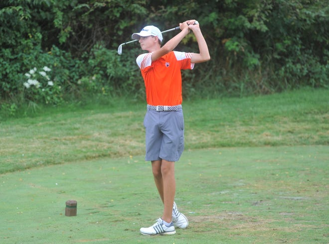 Nick McMullen could be Galion's No. 1 golfer after this upcoming season.