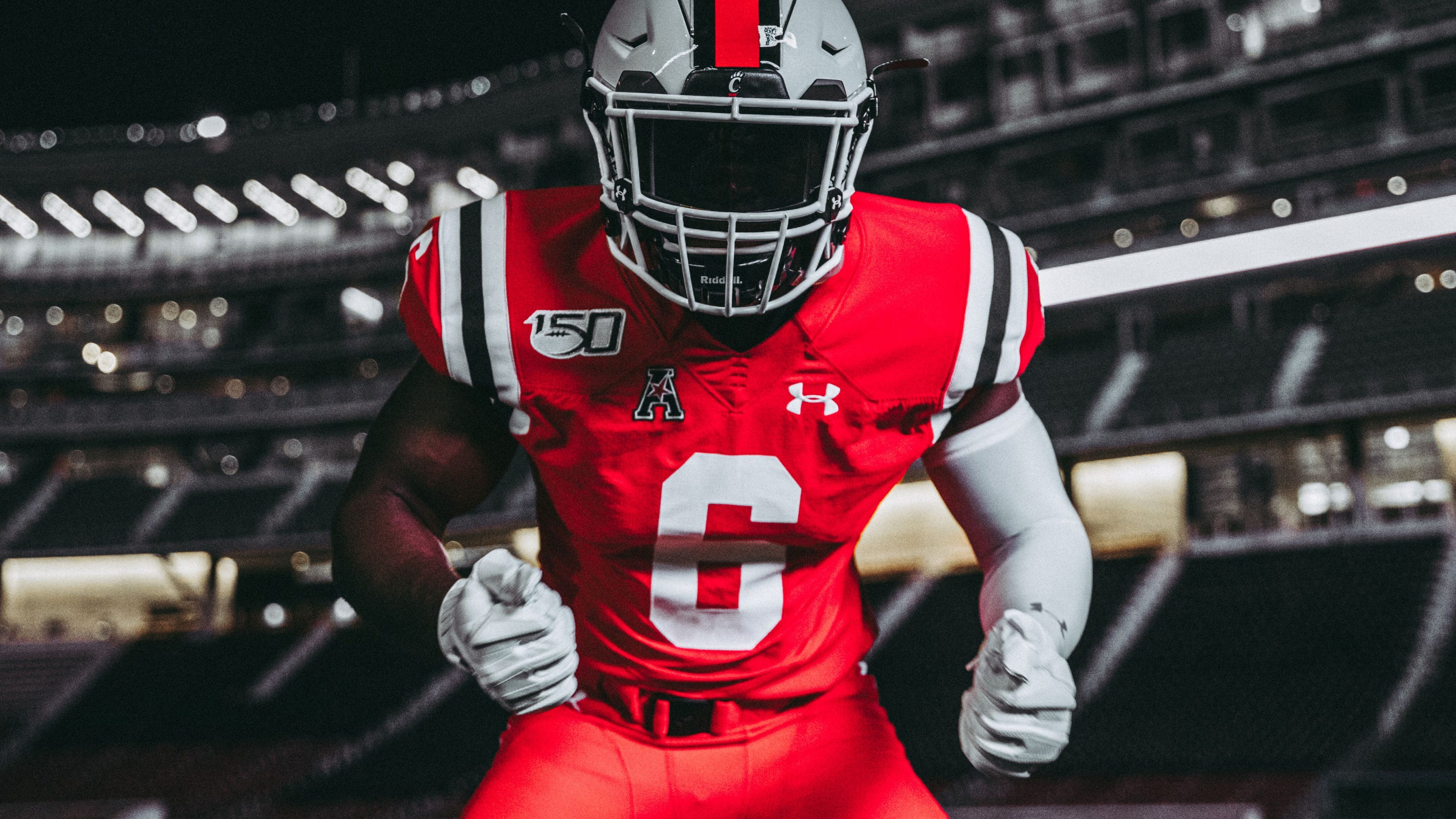 low priced e6d16 06da7 First look: UC football reveals Under Armor 2019 throwback ...