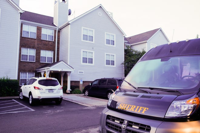 A man was shot by Sharonville police early Tuesday morning during an armed hostage situation involving his adult daughter at Sonesta ES Suites.