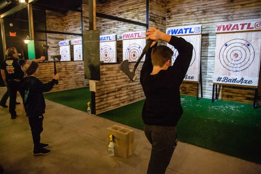 Bad Axe Throwing is scheduled to open its first location in the state in Old Bridge.