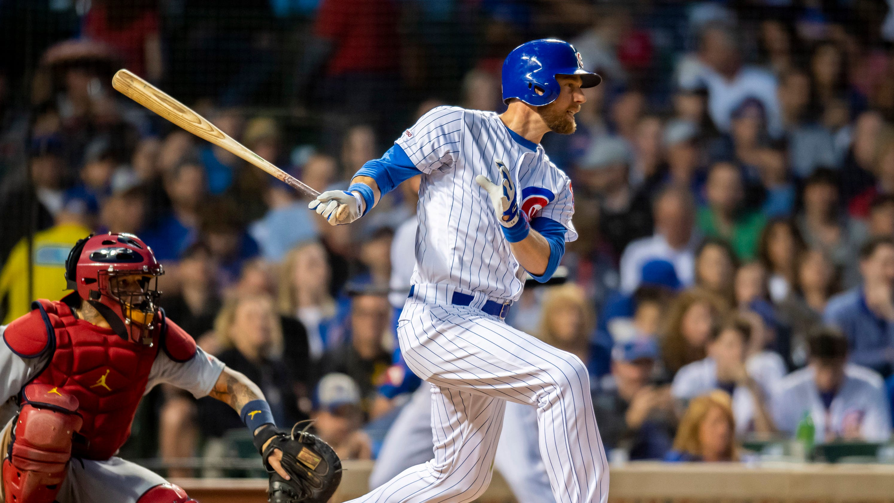 brand new f7434 e204c Chicago Cubs infielder/outfielder Ben Zobrist joining Iowa Cubs