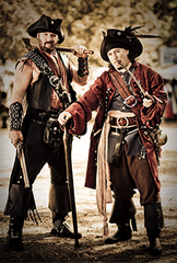 Pirates abound at the Michigan Renaissance Festival.
