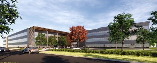 A new three-story office building in Farmington Hills from the Ilitch family's Olympia Development of Michigan will serve as the new headquarters of Mercedes-Benz Financial Services USA LLC.