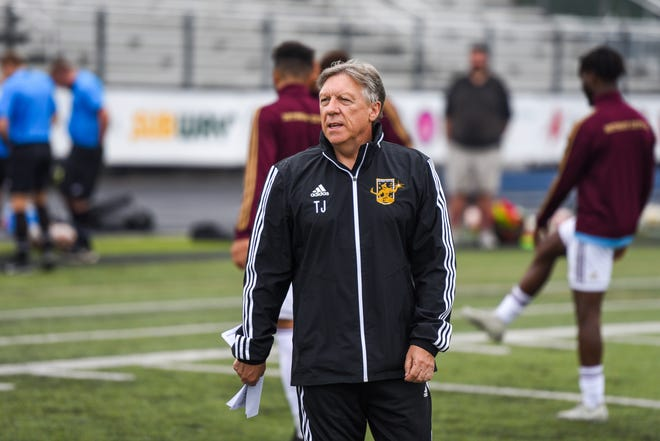 Detroit City FC general manager and coach Trevor James