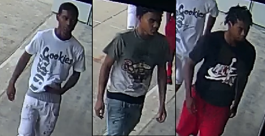 Suspects in the sweatpants theft.
