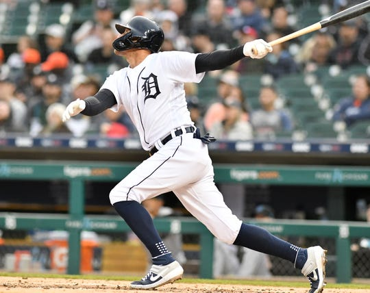 JaCoby Jones is expected to remain the Tigers' regular center fielder in 2020, even though an injury has ended this season early.