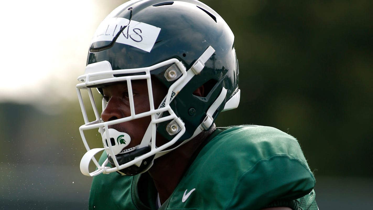 U-D Jesuit product Elijah Collins competes for top job in Michigan State backfield