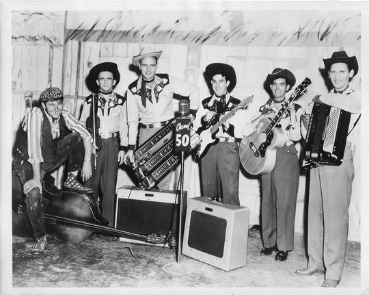Doug Oldham and His Dixie Six, featuring singer Curley Shelton, were a mainstay at long-ago Goodfellows parties until things got a little out of hand.
