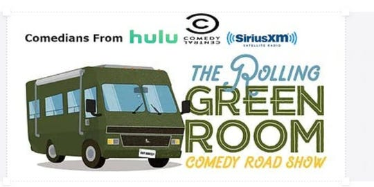 The Rolling Green Room is stopping in Evansville at Maiden's.