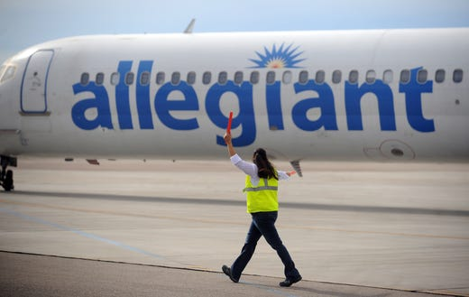 Allegiant Air cancels flights to Northern Colorado airport, again