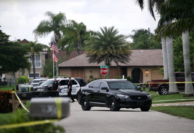 Cape Coral Police Department responded to a domestic disturbance Tuesday afternoon that turned into a death investigation involving an off-duty police officer.