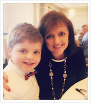 Michelle DeLuca Yarbrough and her 9-year-old son, Matthew Yarbrough.