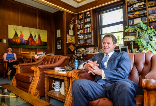 Gov. Steve Bullock has offered a plan that bars members of Congress and the president from holding onto money in their campaign accounts after an election.