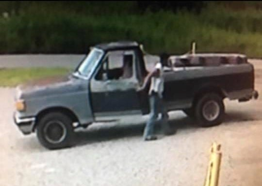 This is one of two suspected illegal dumpers being sought by Henderson police.