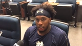 Notre Dame defensive end Khalid Kareem tells a funny story about how his father learned the news of his captaincy