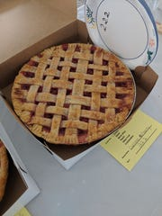 Intricate lattice crusts and delicious fillings make pie judging a tough job.