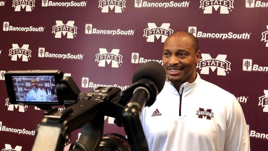 Mississippi State wide receivers coach Michael Johnson has captivated his Bulldogs in the short time he's spent with them.