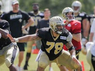 Priority No. 1 for Saints rookie Erik McCoy: Develop chemistry with Drew Brees