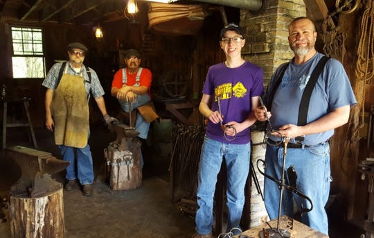 The blacksmith workshop at Pinecrest Historical Village in Manitowoc.