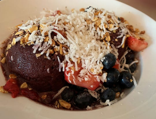 An acai bowl from Doreen's Cup of Joe, Marco Island.