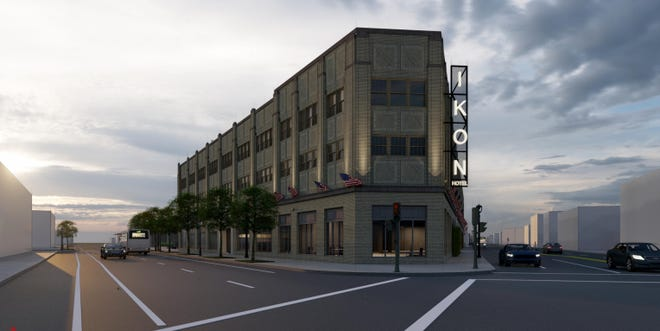The proposed Ikon Hotel, at West Fond du Lac and West North avenues, is getting more time to repay a $4 million city loan.