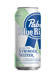 Pabst Blue Ribbon introduces Stronger Seltzer.