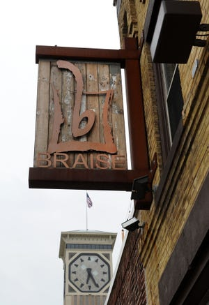 Braise restaurant, 1101 S. Second St., will hold Sunday suppers and chats with Midwestern chefs preparing dishes with local, sustainably produced ingredients.