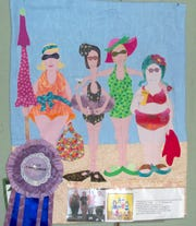 """Gloria Kalke's quilt titled """"Friends"""" is show on display. The Hill 'N Hollow Quilters' Every Quilt Tells a Story Show is slated for September at the Vada Sheid Art Gallery on the campus of ASU-Mountain Home."""