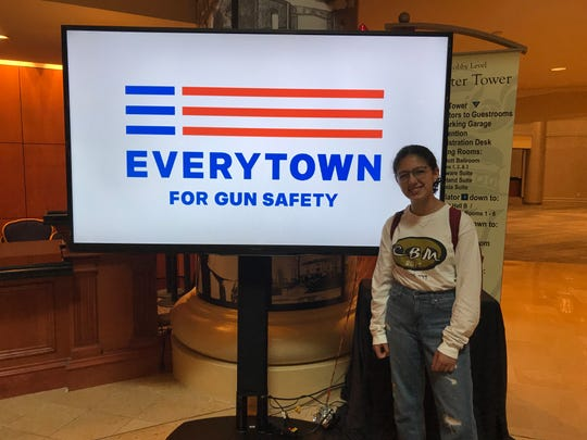 Central Magnet School senior Isabella Reish attended Everytown for Gun Safety's Gun Sense University 2019 to learn how to be a leader in moving toward common sense gun ownership.