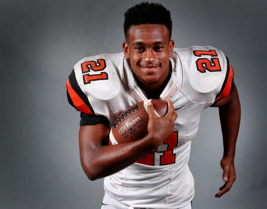 MTCS senior Kemari McGowan rushed for 442 yards on 17 carries Friday night at Grace Christian-Franklin, breaking the TSSAA record for yards rushing by a quarterback in a game.