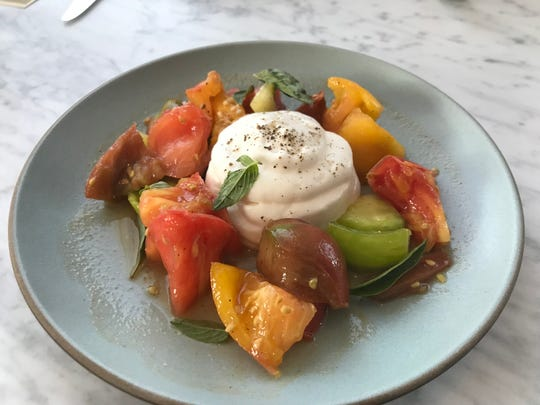 The heirloom tomatoes at Allegory in Montclair are fresh, simple and oh-so good.