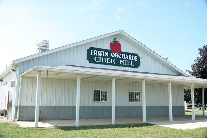 Erwin Orchards at 61475 Silver Lake Road in South Lyon.
