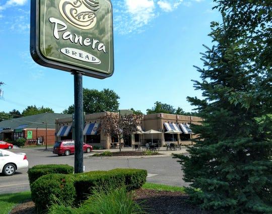 The Panera Bread on Grand River Avenue in Farmington hopes to add a drive-through window.
