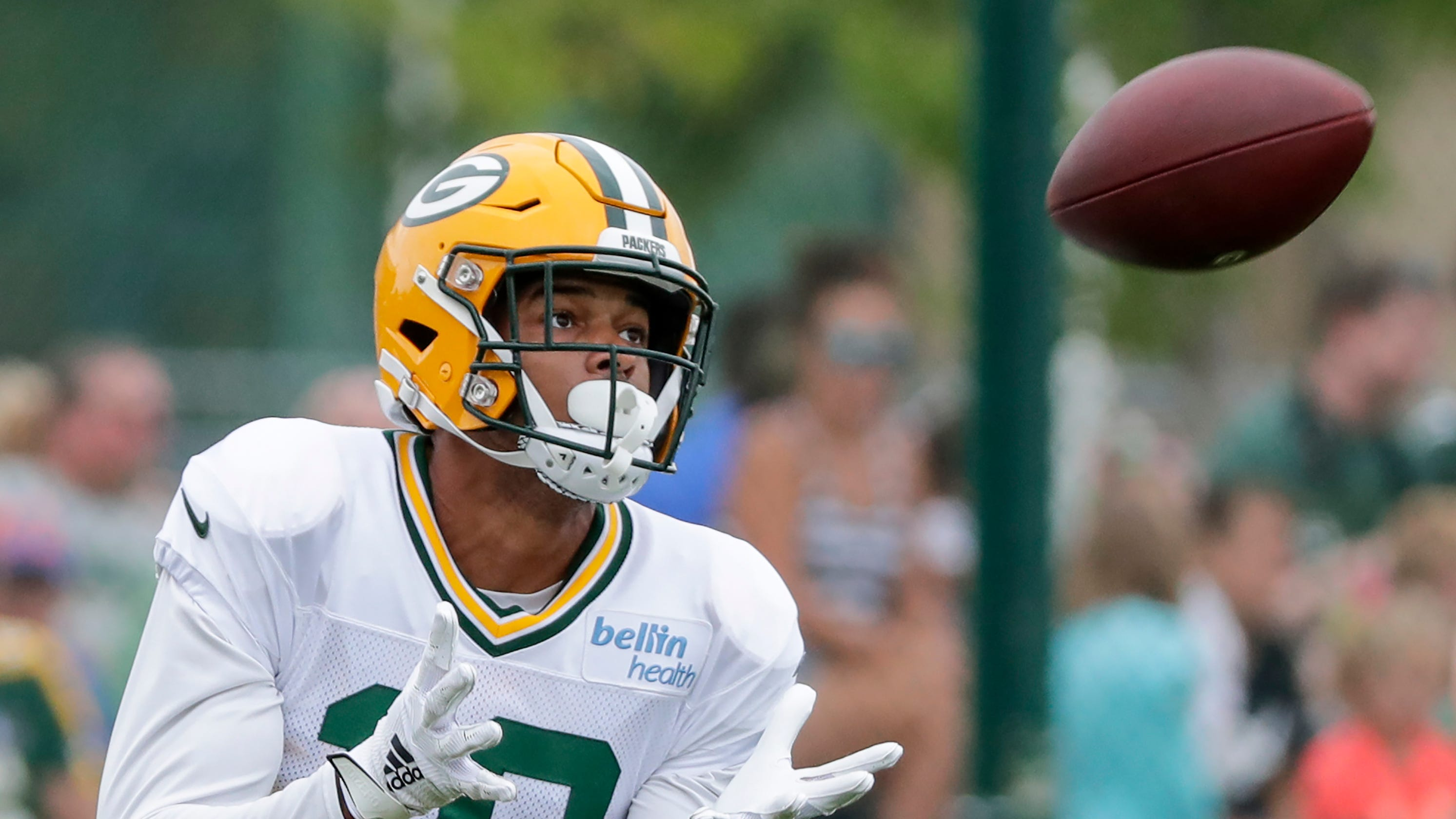 pretty nice b9f70 798ef Green Bay Packers: Equanimeous St. Brown out six weeks with ...