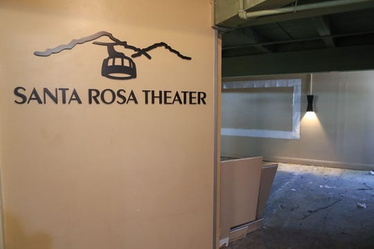 The Santa Rosa Theater will be among the  renovations at the Palm Springs Aerial Tramway, August 9, 2019.