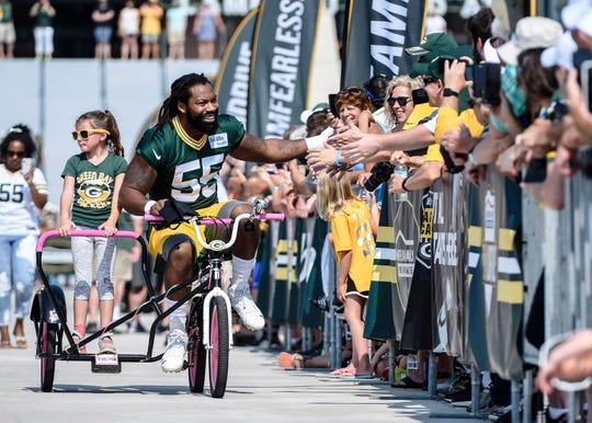 5. Packers linebacker Za'Darius Smith: $16.5 million