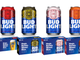 College football team cans for the 2019 season.