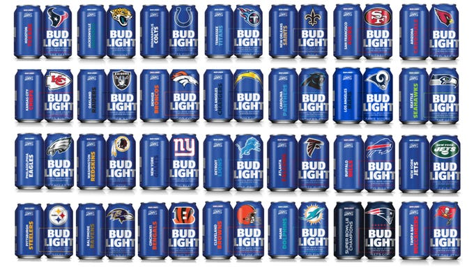 NFL team cans are back for the 2019 season and some college football team cans are here for the first time. Take a look at the special cans.