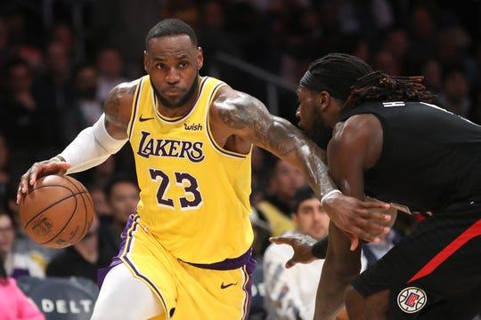 Lebron James y los Lakers se medirán a los Clippers en juego inaugural.