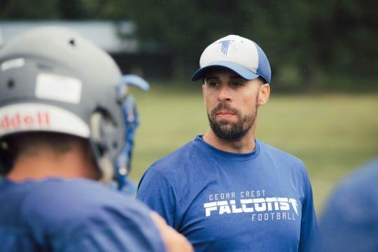 Cedar Crest coach Rob Wildasin