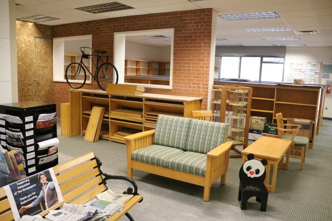 Beginning on Aug. 26, the library, located at 328 Toledo St. in Elmore, will be closed for an around two months during the interior renovation work, part of a 1,400-square-foot expansion project.