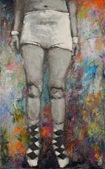 """""""His Socks"""" by Meghan Bissonnette is part of the """"Gender in the Balance"""" exhibit at Barrett Art Center in Poughkeepsie."""