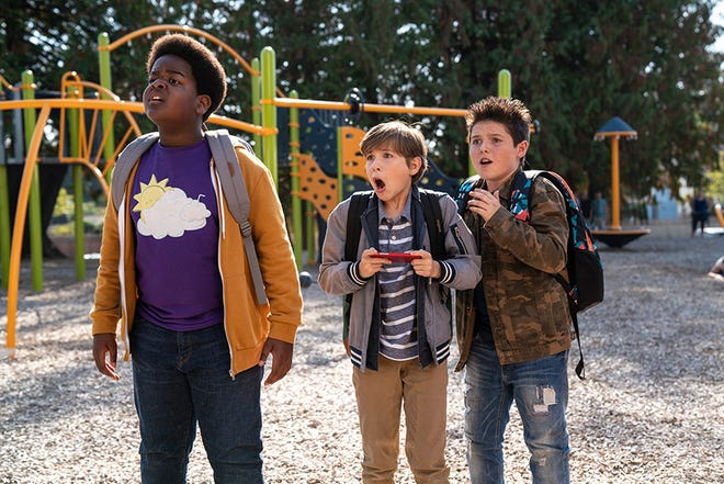 "Brady Noon, Jacob Tremblay and Keith L. Williams star in ""Good Boys."" The movie opens Thursday at Regal West Manchester, Frank Theatres Queensgate Stadium 13 and R/C Hanover Movies."