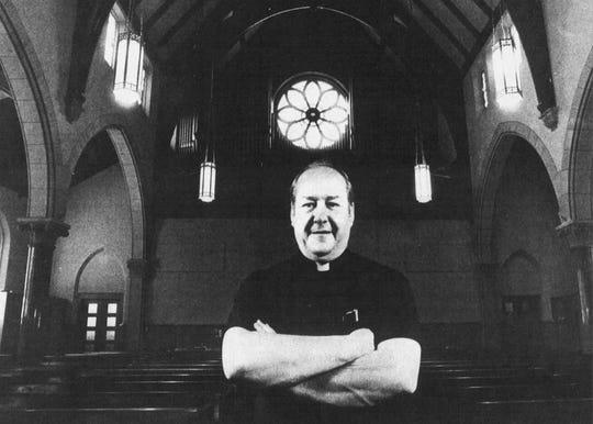 Rev. Bernard Carges, 1985