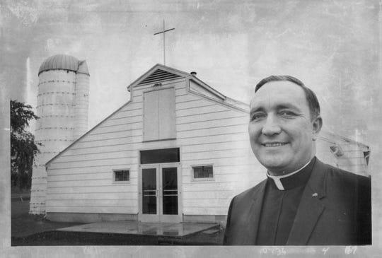 Rev. John Stegar, 1968 (approximate)
