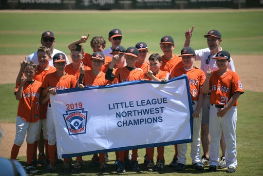 Sprague (Oregon) outlasted Coeur d'Alene (Idaho) 5-4 to book a ticket to the Little League World Series, becoming the first Salem area team to make it to Williamsport, Penn.