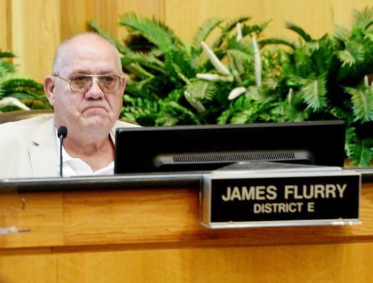 James Flurry during the city council Tuesday August, 13, 2019 at Government Plaza in downtown Shreveport.
